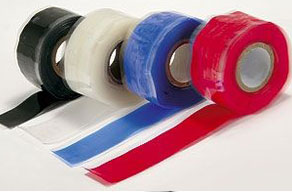 Stretch and seal tapes