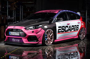 Show car Ford Focus RS