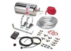 Sparco 014772EXL extinguishing system electrically activated, stainless tank, 4,25 l
